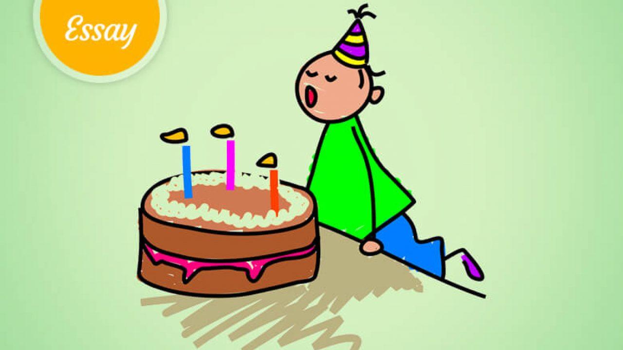 essay on birthday party celebration