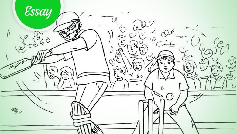 Essay on a cricket match