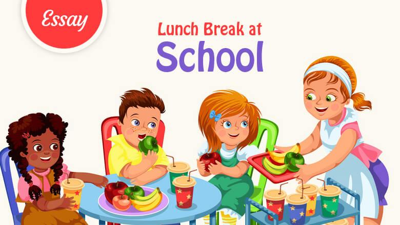 Lunch Break at School